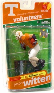 McFarlane Toys NCAA COLLEGE Football Sports Picks Series 2 Action Figure Jason Witten (Tennessee Volunteers) Orange Jersey