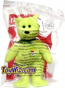 McDonalds 2004 Ty Teenie Beenie Fries the Bear