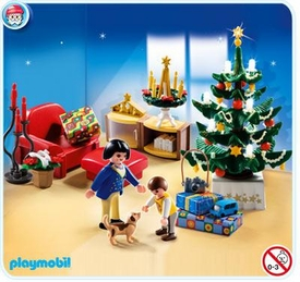 Playmobil Christmas Set #4892 Christmas Room