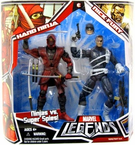 Marvel Legends Action Figure 2-Pack Nick Fury & Hand Ninja