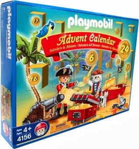 Playmobil Christmas Advent Calendar Set #4156 Pirates