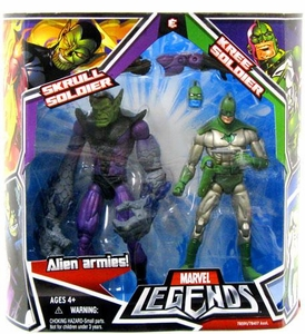 Marvel Legends Action Figure 2-Pack Skrull Soldier & Kree Soldier