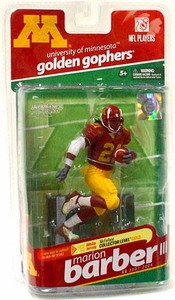 McFarlane Toys NCAA COLLEGE Football Sports Picks Series 2 Action Figure Marion Barber (Minnesota Golden Gophers)
