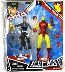 Marvel Legends Action Figure 2-Pack Iron Man & Maria Hill