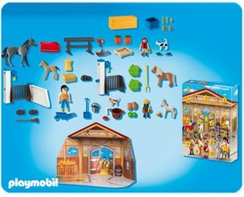 Playmobil Suburban Life Advent Calendar Set #4159 Pony Ranch