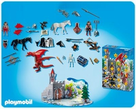 Playmobil Suburban Life Advent Calendar Set #4160 Dragon's Land