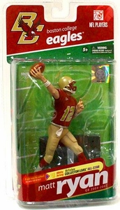 McFarlane Toys NCAA COLLEGE Football Sports Picks Series 2 Action Figure Matt Ryan (Boston College Eagles)