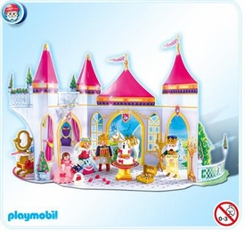 Playmobil Magic Castle Advent Calendar Set #4165 Princess Wedding