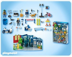 Playmobil Police Advent Calendar Set #4157 Police