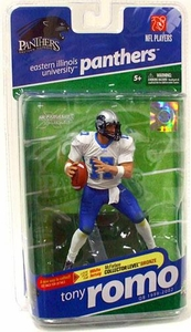 McFarlane Toys NCAA COLLEGE Football Sports Picks Series 2 Action Figure Tony Romo (Eastern Illinois Panthers) White Jersey Bronze Collector Level Chase Only 3,000 Made!
