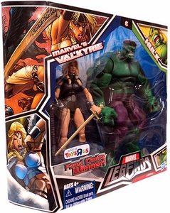 Marvel Legends Fan's Choice Exclusive Action Figure 2-Pack Marvel's Valkyrie & Hulk