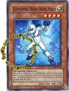 YuGiOh GX Tactical Evolution Single Card Super Rare TAEV-EN018 Elemental Hero Neos Alius