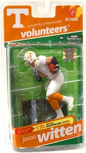 McFarlane Toys NCAA COLLEGE Football Sports Picks Series 2 Action Figure Jason Witten (Tennessee Volunteers) White Jersey Bronze Collector Level Chase Only 2,500 Made!