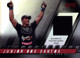 UFC Topps Ultimate Fighting Championship 2010 Knockout Single Card Relic FG-JDS Junior Dos Santos 146/188