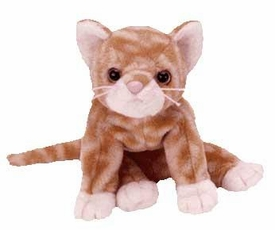 Ty Beanie Baby Amber the Gold Tabby