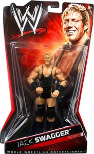 Mattel WWE Wrestling Basic Series 9 Action Figure Jack Swagger