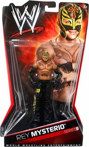 Mattel WWE Wrestling Basic Series 9 Action Figure Rey Mysterio BLOWOUT SALE!