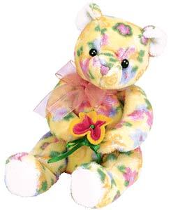 Ty Beanie Baby Bloom the Bear