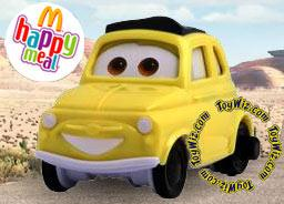 McDonalds Happy Meal Disney Cars #7 Luigi