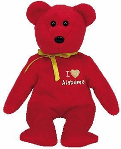 Ty Beanie Baby Hurricane Katrina Relief Charity I Love Alabama the Bear