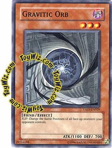 YuGiOh GX Tactical Evolution Single Card Common Gravity Orb TAEV-EN029