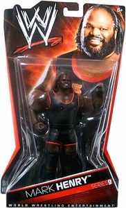 Mattel WWE Wrestling Basic Series 9 Action Figure Mark Henry BLOWOUT SALE!