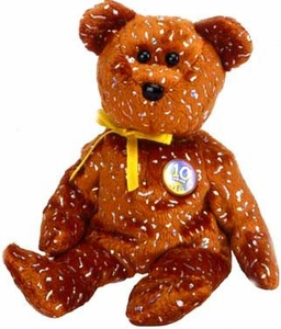 Ty Beanie Baby Brown Decade the Bear