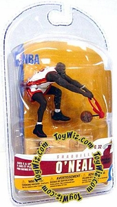 McFarlane Toys NBA 3 Inch Sports Picks Series 5 Mini Figure Shaquille O'Neal (Miami Heat)
