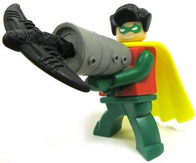Lego Batman McDonald's Happy Meal Toy Figure #7 Robin with Grappling Hook