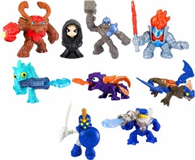 Skylanders 2013 McDonald's Happy Meal Set of 9 Figures [Jet Vac, Spyro, Kaos, Tree Rex, Ignitor, Gil Grunt, Drobot, Crusher & Chop Chop]