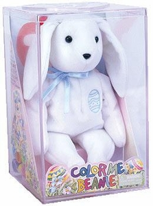 Ty Beanie Baby Color Me Bunny (Blue)
