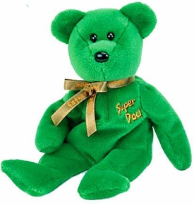 Ty Beanie Baby Internet Exclusive Dad-e 2004 the Bear