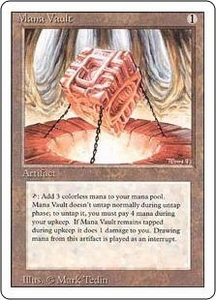 Magic the Gathering Revised Edition Single Card Rare Mana Vault