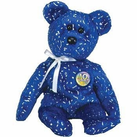 Ty Beanie Baby Decade the Royal Blue Bear