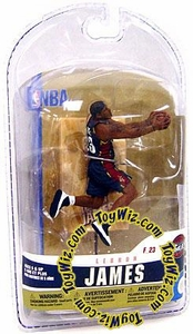 McFarlane Toys NBA 3 Inch Sports Picks Series 5 Mini Figure LeBron James (Cleveland Cavaliers)