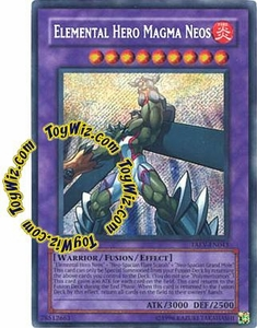 YuGiOh GX Tactical Evolution Single Card Secret Rare TAEV-EN043 Elemental Hero Magma Neos