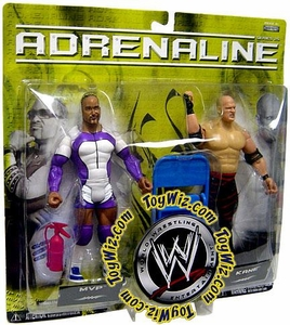 WWE Wrestling Adrenaline Series 25 Action Figure 2-Pack Kane & MVP