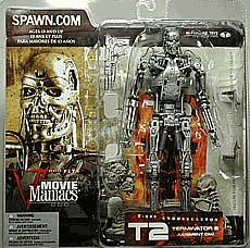 McFarlane Toys Movie Maniacs Series 5 Action Figure T-800 Endoskeleton