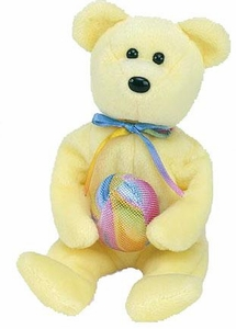 Ty Beanie Baby Internet Exclusive Eggbeart the Bear