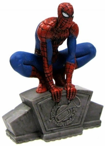 Marvel Spider-Man Exclusive 2.5 Inch PVC Figure Spider-Man [Crouching]