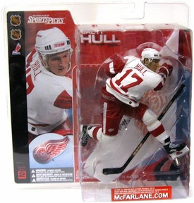 McFarlane Toys NHL Sports Picks Series 2 Action Figure Brett Hull (Detroit Red Wings)