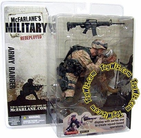 McFarlane Toys Military Soldiers REDEPLOYED Series 1 Action Figure U.S. Army Ranger (*Random Ethnicity)
