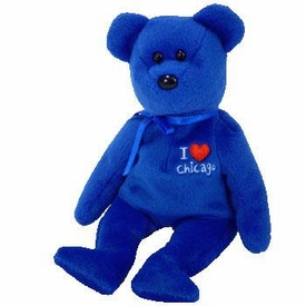 Ty Beanie Baby I Love Chicago the Bear