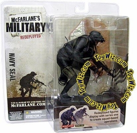 McFarlane Toys Military Soldiers REDEPLOYED Series 1 Action Figure U.S. Navy Seal (*Random Ethnicity)