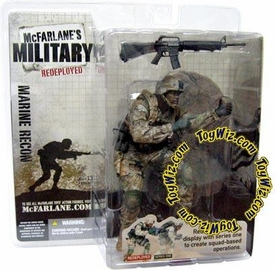 McFarlane Toys Military Soldiers REDEPLOYED Series 1 Action Figure U.S. Marine Corp. Recon Soldier (*Random Ethnicity)