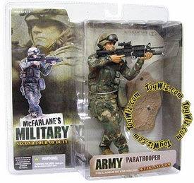 McFarlane Toys Military Soldiers Series 2 (2nd Tour of Duty) Action Figure 101st Airborne Paratrooper (*Random Ethnicity)
