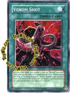 YuGiOh GX Tactical Evolution Single Card Common Venom Shot TAEV-EN053