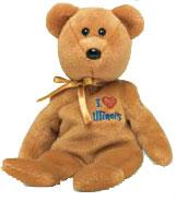 Ty Beanie Baby I Love Illinois the Bear