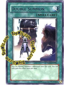 YuGiOh GX Tactical Evolution Single Card Rare TAEV-EN056 Double Summon