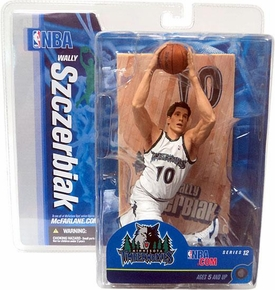 McFarlane Toys NBA Sports Picks Series 12 Action Figure Wally Szczerbiak (Minnesota Timberwolves) Chase Piece
